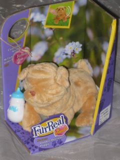 Hasbro FUR REAL FurReal friends newborn GOLDEN RETRIEVER Puppy Hund