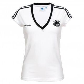 Adidas Damen T Shirt E12 DFB Retro Tee 5427