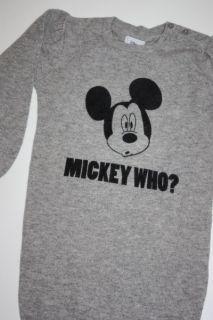 Kleid mit großer Mickey Mouse von Disney *** 116 **NEU** (655)
