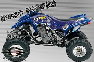 YFM660 Dekorsatz Graphics Kit 660 Raptor Dekor Kit YFM