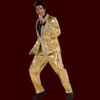 Rock`n Roll Elvis   Kostüm   Rock Star Herren Fun Kostüm Glitzer