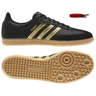 Adidas Originals Samba M Schwarz Herren Schuhe Sneaker Turnschuhe