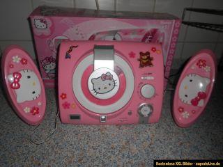 Hello Kitty CD Player Radio Musik Center Musikcenter gebraucht