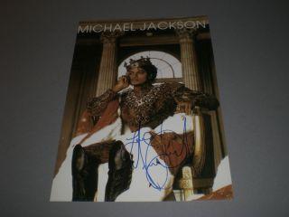 Michael Jackson signed signiert autograph Autogramm 20x30 Foto in