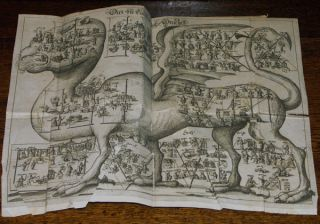 GESCHICHTE MONARCHIEN IDEA HISTORIAE UNIVERSALIS 1672 ÄUSSERST