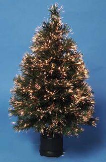 Weihnachtsbaum kuenstlich Fiber Optik 90cm bunt beleuchtet Top Artikel