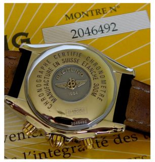 BREITLING Chronomat EVOLUTION B13356 STAHL/GOLD MIT BOX & ALLEN
