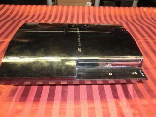 Sony PlayStation 3 PS3 60GB, defekt, schaltet sofort ab, für Bastler