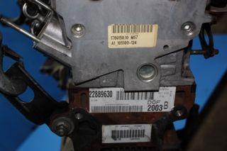 BMW 5er E39 525d Motor Triebwerk Diesel 256D1 M57 163PS