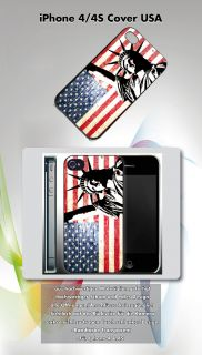 Apple Iphone 4/4S USA Fahne Hülle Cover Case Amerika New York Las