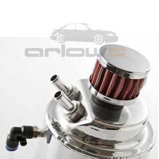 Ölsammler chrom Öl Catchtank Honda Civic CRX VTec V tec Turbo TypR