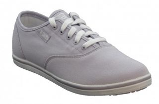 K SWISS Olney Pearl White Weiss Leder Gr 42 UK 8 Damen Schuhe Sneaker