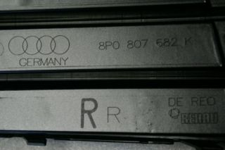 Original Audi A3 S Line Nebelscheinwerfer Blende Abdeckung Gitter