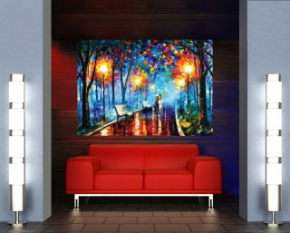 Evening Walk Oil Painting Art Giant Poster X697