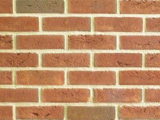17,15 o/m²) Handform Verblender, Klinker Stein rot bunt WDF