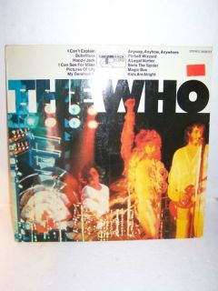 T687   The Who   Same Track Record 1967 LP