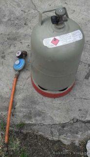 Gasflasche Propan Gas Camping 6,8kg m. Druckminderer