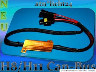 H8 H11 LED SMD CanBus Widerstände Widerstand 50W Error
