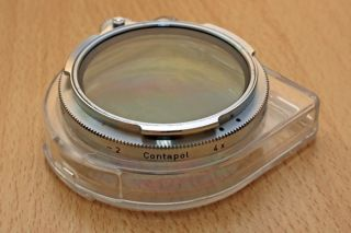 Zeiss Ikon Contapol B56 4x Polfilter mit Box  Polarizing Filter