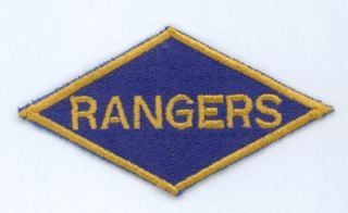 US ARMY WWII WK2 RANGERS RANGER Uniform patch Aufnäher