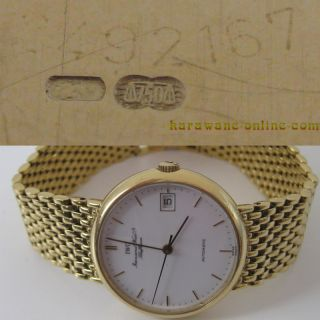 IWC Portofino Herren Armbanduhr 18kt Gold .750 Automatic mit Datum