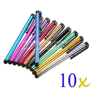 10x Touch Stylus Pen For Samsung Galaxy S2 i9100 T989 i777 D710 Note