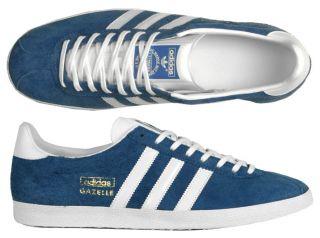 Adidas Originals Schuhe Gazelle OG royal blue/white blau weiß alle