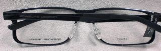 Orig. PORSCHE DESIGN Brille P8165 col D schwarz TITAN