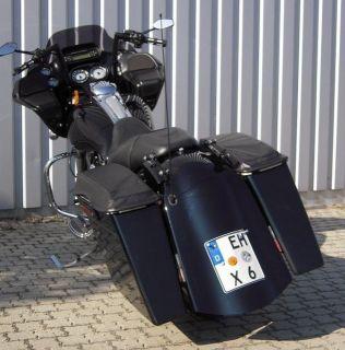 Harley Davidson Bagger Stretched Saddl Seitenkoffer Koffer
