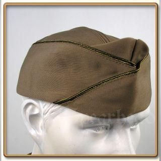 US Army Officer`s Pink Gabardine Garrison Cap Gr 60