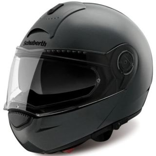 SCHUBERTH C3 MOTORCYCLE HELMET GLOSS BLACK WORLD XXL