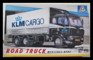 Italeri 729 124 Road Truck Mercedes Benz