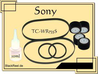 Sony TC WR735 S TCWR735S Service Kit 1 Kassettendeck Cassette Tape
