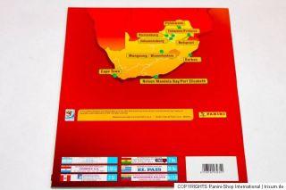 Panini WC WM 2010 South Africa – 10 x Leeralbum EMPTY ALBUM South