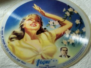 Blue Skies ultrarare Vogue R 725 / 726 picturerecord 78rpm 10