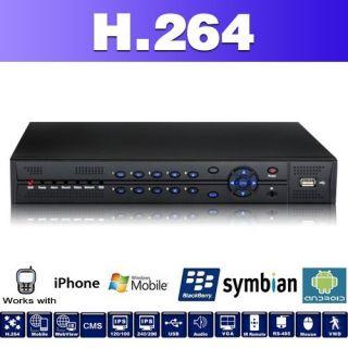 FULL D1 HD H.264 DVR 4 8 16 KANAL CH AUFZEICHNUNGSGERÄT