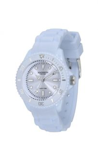 Madison N. Y. Silicon Candy TIME MINI Armbanduhr Pastell Blau Uhr