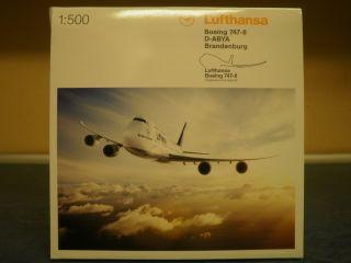 Herpa Wings 1:500 Boeing 747 800 I Lufthansa