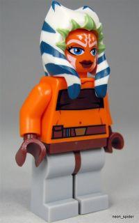 LEGO Star Wars Figur Ahsoka Tano (Clone Wars) mit gelbgrünem
