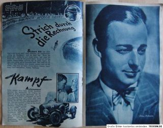 UFA 1932/33 Spitzenfilme der nächsten Saison Katalog   F.P.1
