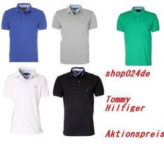 Tommy Hilfiger Poloshirt Herren Polo Shirt Original Neu OVP