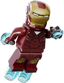 LEGO Super Heroes Iron Man Mark VI Mini Figur neu aus 6867