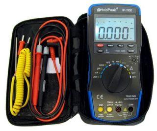 Profi Digital Multimeter mit Bargraph Kapazität TrueRMS