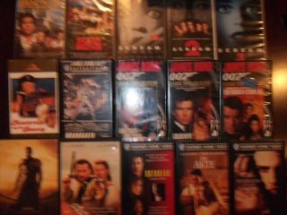 VHS Sammlung Blockbuster Filme Highlights Action Horror Crime Military