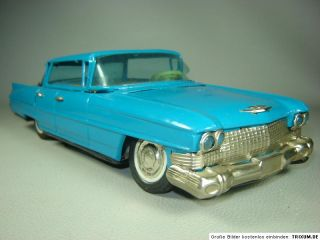 Cadillac Sedan de Vile Blechspielzeug m. Batterieantrieb Blechauto