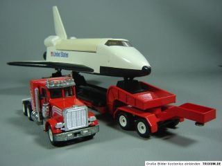 Peterbilt US Truck m. Space Shuttle Schwertransport 1:55 Siku 4016 LKW
