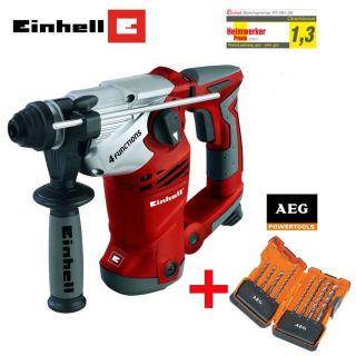 EINHELL Bohrhammer RT RH 26 Hammer Beton inkl. 8 tlg. AEG SDS