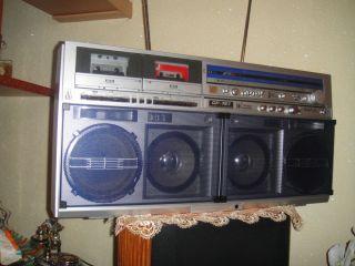Sharp GF 767 Ghettoblaster, Boombox,Vintage,Sammler wie * Sharp GF 777