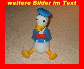 Donald Duck Figur aus Keramik Walt Disney Production alt und selten