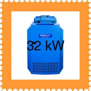Buderus Gasheizung Gußkessel 32+C145KW G144 Logamatic 2
